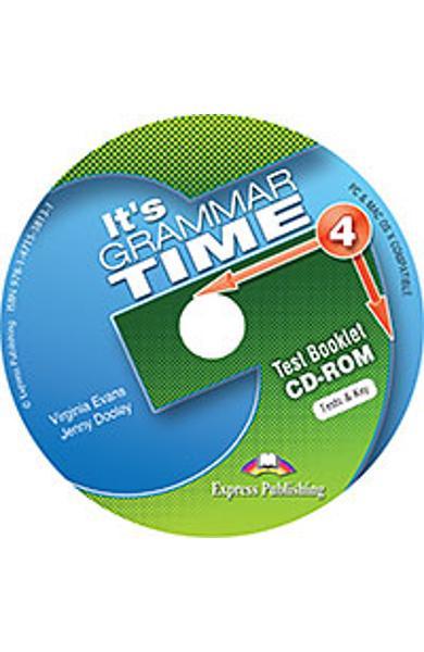 Curs de gramatica limba engleza It's Grammar Time 4 Teste CD-ROM