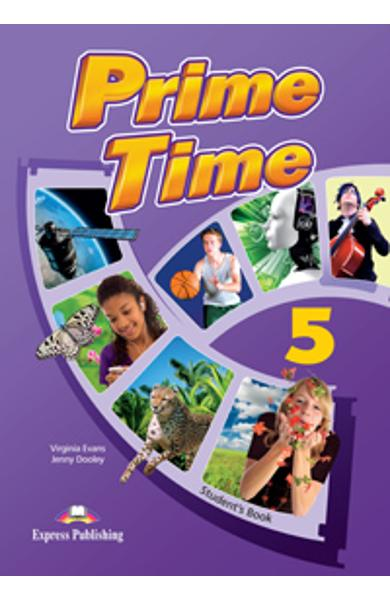 Curs Lb. Engleza Prime Time 5 manualul elevului 978-1-4715-0321-4