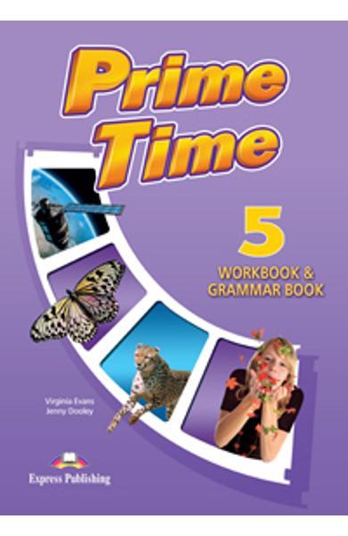 Curs Lb. Engleza Prime Time 5 caiet si gramatica 978-1-4715-0322-1