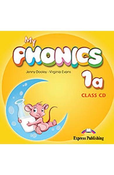 Curs Lb. Engleza My Phonics 1a Audio CD la manual 978-1-4715-2587-2