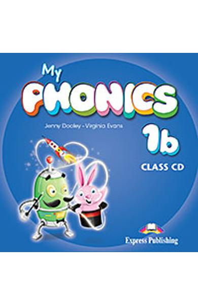 CURS LB. ENGLEZA MY PHONICS 1B AUDIO CD MANUAL 978-1-4715-2588-9