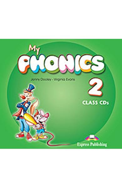 Curs Lb. Engleza My Phonics 2 Audio CD la manual (set of 2) 978-1-4715-2718-0