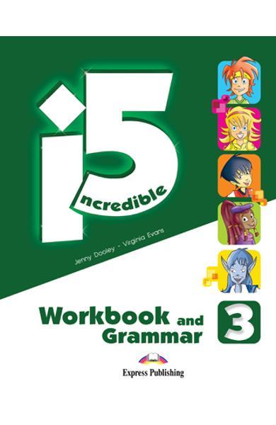 Curs limba engleza - Incredible 5 3 - Caiet si Gramatica 978-1-4715-1178-3