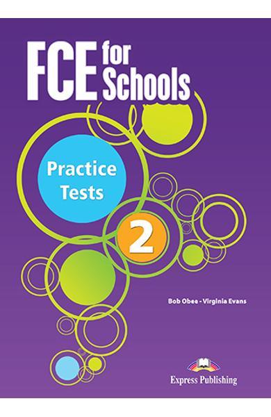 Curs limba engleza Examen Cambridge FCE for Schools Practice Tests 2 audio CD (set 4 CD-uri)(revizuit 2015) 978-1-4715-3401-0