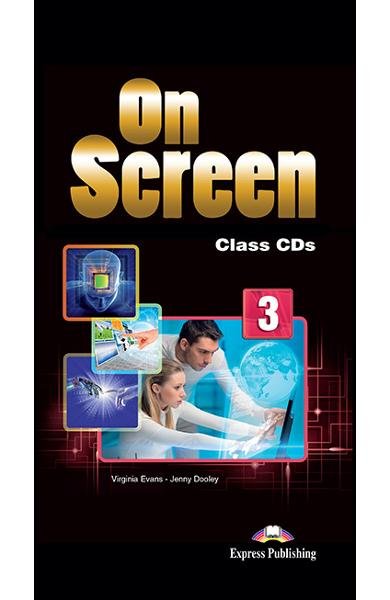 Curs limba engleza On Screen 3 Audio CD (set of 5)