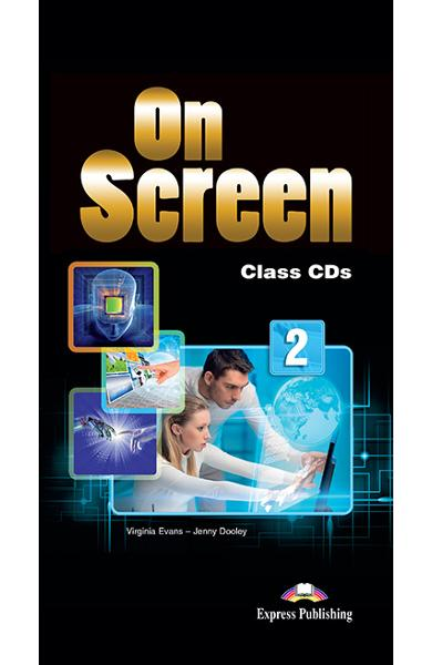 Curs limba engleza On Screen 2 Audio CD (set 6 CD-uri)