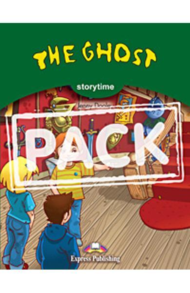 Literatura adaptata pentru copii The Ghost set cu multi-rom