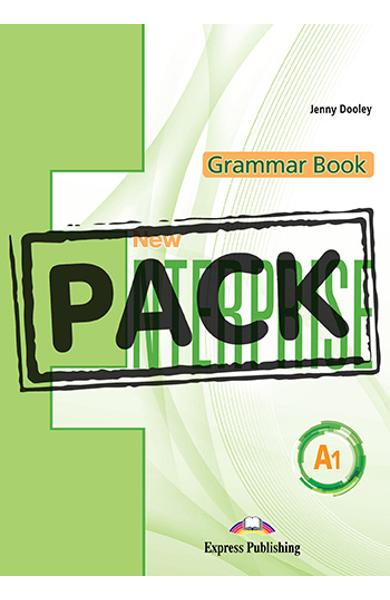 Curs limba engleza New Enterprise A1 Gramatica cu digibook app.