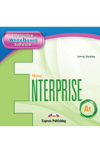 Curs limba Engleza New Enterprise A1 IWB