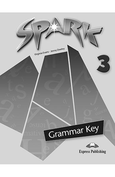 Curs limba engleza Spark 3 Monstertrackers Cheie la gramatica 978-1-84974-695-3
