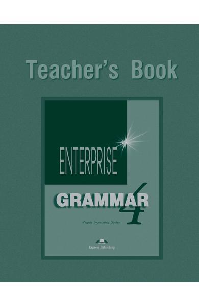 Curs de gramatica limba engleza Enterprise Grammar 4 Manualul profesorului 978-1-903128-80-0