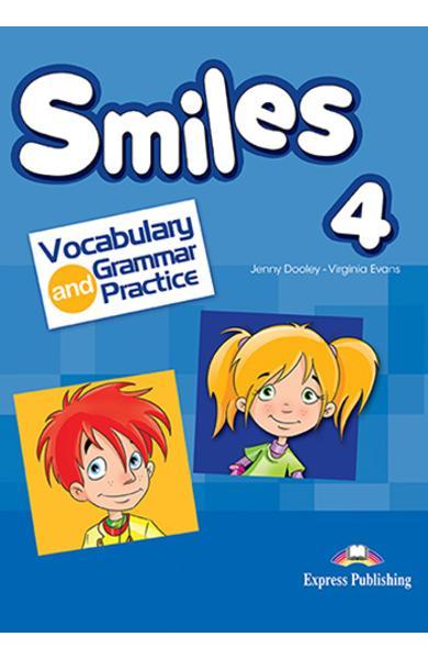 Curs limba engleza Smiles 4 Vocabular si Gramatica
