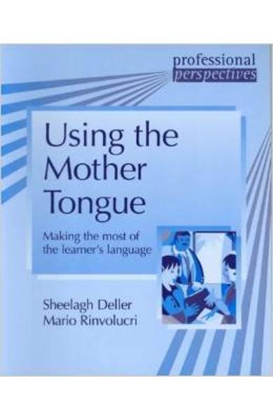 Carte de Metodica in limba engleza - Using Mother Tongue