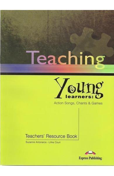 Carte de metodica in limba engleză Teaching Young Learners