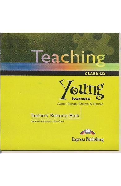 Carte de metodica in limba engleză - Teaching Young Learners CD