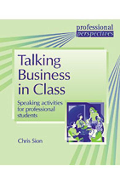 Carte de Metodica in limba engleza - Talking Business in Class