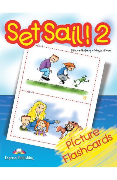 Curs limba engleză Set Sail 2 Picture Flashcards