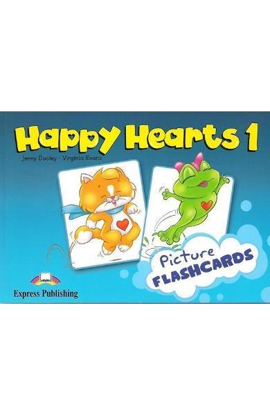 Curs limba engleză Happy Hearts 1 Picture flashcards