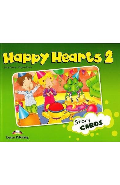 Curs limba engleză Happy Hearts 2 Story Cards