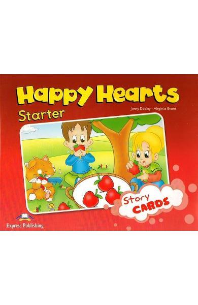 Curs limba engleză Happy Hearts Starter Story Cards