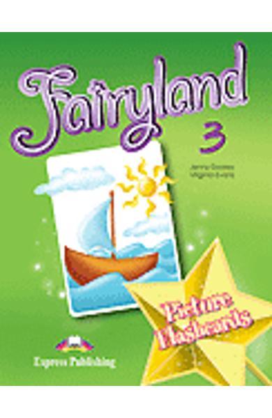 Curs limba engleză Fairyland 3 Picture flashcards