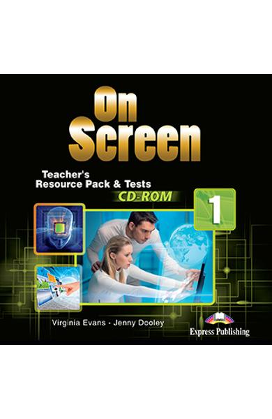 CURS LB. ENGLEZA ON SCREEN 1 MATERIAL ADITIONAL PT. PROFESOR SI TESTE PE CD-ROM 978-1-4715-4010-3