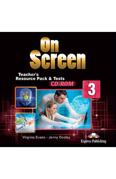 CURS LB. ENGLEZA ON SCREEN 3 MATERIAL ADITIONAL PT. PROFESOR SI TESTE PE CD-ROM 978-1-4715-4012-7