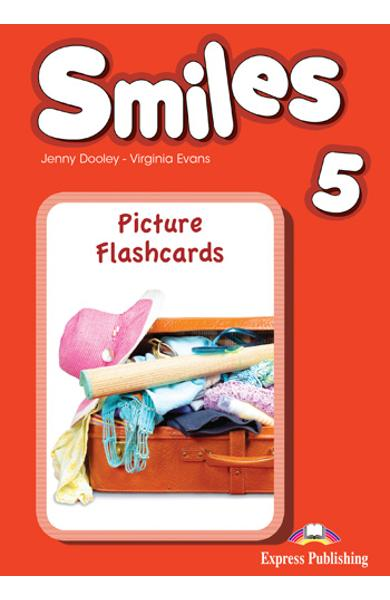 CURS LB. ENGLEZA SMILES 5 PICTURE FLASHCARDS 978-1-4715-5319-6