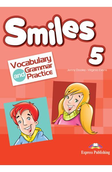 CURS LB. ENGLEZA SMILES 5 VOCABULAR SI GRAMATICA 978-1-4715-5394-3