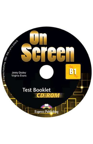 CURS LB. ENGLEZA ON SCREEN B1 TEST BOOKLET CD-ROM 978-1-4715-5456-8