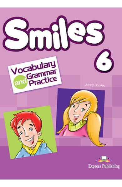 CURS LB. ENGLEZA SMILES 6 VOCABULAR SI GRAMATICA 978-1-4715-6159-7