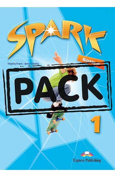 Curs limba engleza Spark 1 Monstertrackers Caietul elevului + Digibooks App. 978-1-4715-6581-6