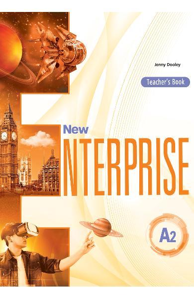 CURS LB. ENGLEZA NEW ENTERPRISE A2 MANUALUL PROFESORULUI 978-1-4715-6968-5