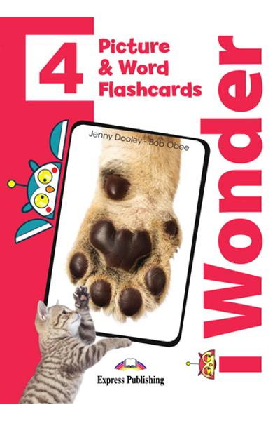 CURS LB. ENGLEZA I-WONDER 4 PICTURE SI WORD FLASHCARDS 978-1-4715-7051-3
