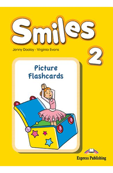 CURS LB. ENGLEZA SMILES 2 PICTURE FLASHCARDS 978-1-78098-737-8