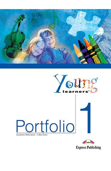 CURS LB. ENGLEZA YOUNG LEARNERS' PORTFOLIO 1 CAIET ACTIVITATI 978-1-84466-170-1
