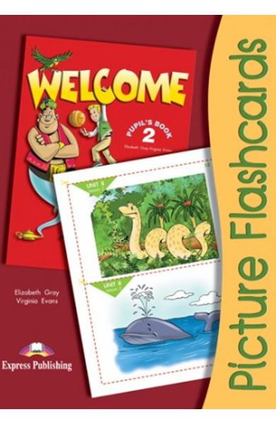 Curs limba engleza Welcome 1 Flashcards Set 2 978-1-84466-249-4