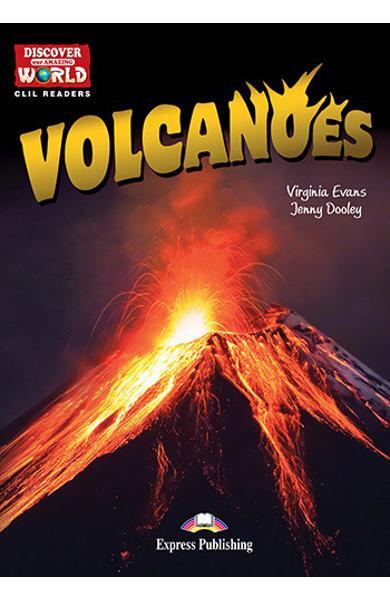 Literatura CLIL Volcanoes reader cu cross-platform APP. 978-1-4715-6342-3