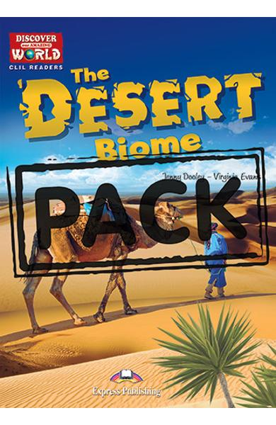 Literatura CLIL The Desert Biome reader cu digibook APP. 978-1-4715-7063-6