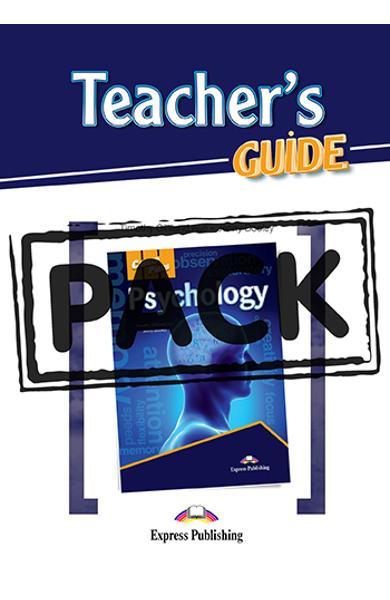 CURS LB. ENGLEZA CAREER PATHS PSYCHOLOGY PACHETUL PROFESORULUI ( MANUAL ELEV +  AUDIO CD + GHIDUL PROFESORULUI + DIGIBOOK APP ) 978-1-4715-6708-7