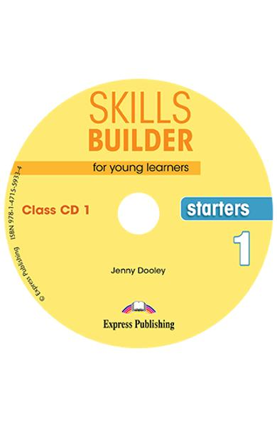 CURS LB. ENGLEZA SKILLS BUILDER STARTERS 1 AUDIO CD ( SET 2 CD-URI ) (REVIZUIT 2018) 978-1-4715-5932-7