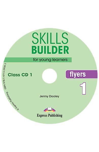 CURS LB. ENGLEZA SKILLS BUILDER FLYERS 1 AUDIO CD ( SET 2 CD-URI ) (REVIZUIT 2018) 978-1-4715-5955-6