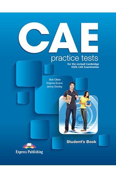 CURS LB. ENGLEZA EXAMEN CAE PRACTICE TESTS MANUALUL PROFESORULUI CU DIGIBOOK APP. (REVIZUIT 2015) OVERPRINTED 978-1-4715-7956-1