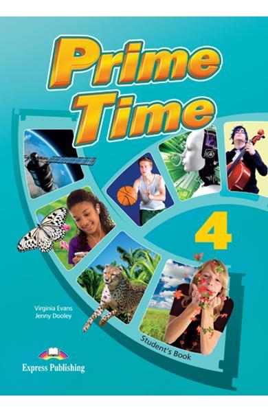 CURS LB. ENGLEZA PRIME TIME 4 CAIET SI GRAMATICA CU DIGIBOOK APP. 978-1-4715-6588-5