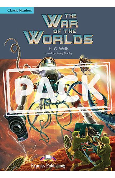 LITERATURA ADAPTATA PT. COPII THE WAR OF THE WORLDS CARTE CU AUDIO CD 978-1-4715-5401-8
