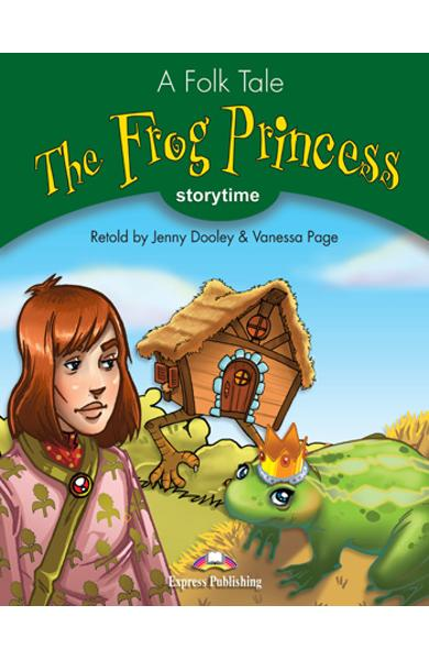 LITERATURA ADAPTATA PT. COPII THE FROG PRINCESS CU CROSS-PLATFORM APP. 978-1-4715-6423-9