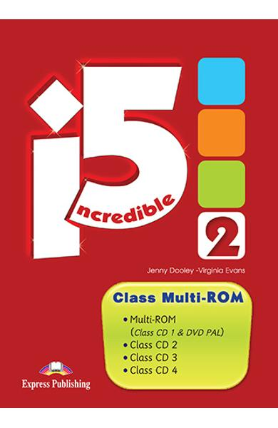 CURS LB. ENGLEZA INCREDIBLE 5 2 CLASS MULTI-ROM (CLASS CD + DVD) 978-1-4715-1184-4