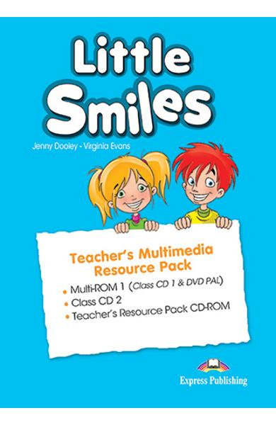 CURS LB. ENGLEZA LITTLE SMILES MATERIAL ADITIONAL PTR PROFESOR MULTIMEDIA (SET OF 3) 978-1-4715-1277-3