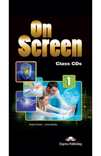 CURS LB. ENGLEZA ON SCREEN 1 AUDIO CD (SET 5 BUC) 978-1-4715-3478-2-NFS