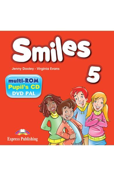 CURS LB. ENGLEZA SMILES 5 MULTI-ROM 978-1-4715-5541-1